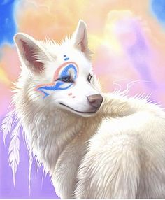 Spiritwind, female, VERY pretty, kind, loving, and wise. Has the power to turn into an eagle. Mate: Frost