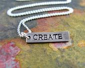 Create Silver Necklace * Etsy