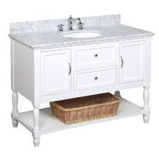 """Beverly 48"""" Single Bathroom Vanity Set"""