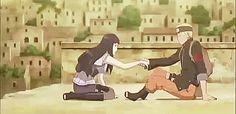 NaruHina gif from Naruto The Last.