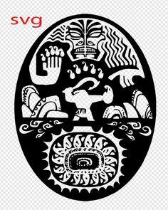 Maui tattoo by lil moocher on deviantart disnerd for Maui tattoo stencil