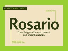 Rosario on Behance