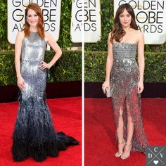 Sparkles at the red carpet! #GoldenGlobes