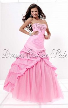 Ball Gown Strapless Dress