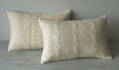 Cable Knit Duvet Cover   for cable knit pillow covers - Decorative Cable Knit Pillow Cover ...