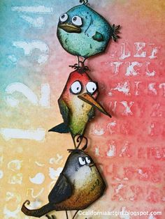 "Richele Christensen: ""Bird Crazy"" just got better!"
