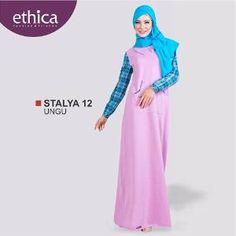 Baju Gamis Wanita STALYA 12 UNGU