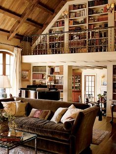 bookshelf balcony