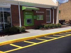 Parking Area Marking in Knoxville TN aaastripepro@gmail.com Striping Sealcoating Painting Insured!