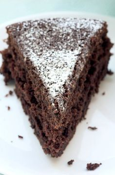 Sometimes simple is best, like with this easy to make Cocoa Cake. It's all about the chocolate! - Bake or Break Delicious Cake for holiday Chocolate Cobbler, Chocolate Chip Cheesecake, Chocolate Hazelnut, Cake Chocolate, Chocolate Kisses, German Chocolate, Decadent Chocolate, Vegetarian Chocolate, Chocolate Recipes