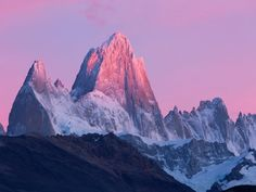 Fitz Roy, Patagonia, Border of Argentina and Chile  NHPA / SuperStock