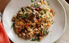 Slow Cooker Mushroom Barley Risotto by Food Network Kitchens (Mushroom) @FoodNetwork_UK