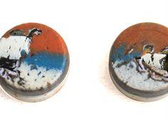 Fine Art Stud Earrings Design