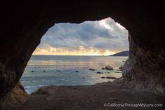 Pirate's Cove and Sea Cave in Avila Beach