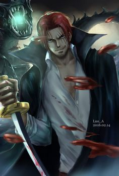 How strong is Shanks actually? It's still a mystery. On the one hand, the game value is lower than Big Mom, Kaido and Whitebeard. Mihawk did not want . One Piece Manga, Zoro One Piece, One Piece 1, One Piece Fanart, Anime Girls, Cute Anime Boy, One Punch Man, Famous Pirates, Es Der Clown
