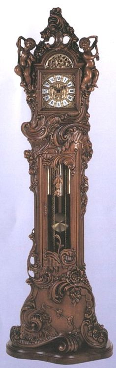 Grandfather Clock.............look at the beautiful detail......