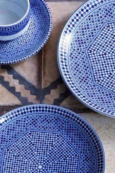 fez ceramics for chambres d'amis