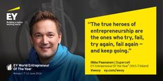 We take a look at some of the inspirational quotes and mottos from EY Entrepreneur Of The Year country winners. #WEOY