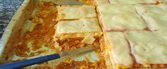 Foto - Receita de Lasanha de frango simples com molho branco!
