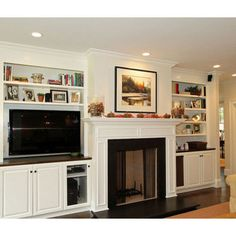 Tv Beside Fireplace Design, Pictures, Remodel, Decor and Ideas - page 5