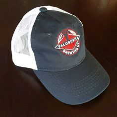 5ea50e45a69 Yalo Navy Trucker (Red/White Logo) Brewing Co, Brewery, Navy,