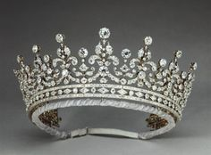 "The Queens tiara, my favourite one of her crowns and tiaras. It's called, ""the girls of great Britain & Ireland""."
