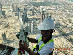 Dubai 2008, the middle of the desert.