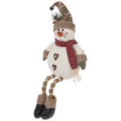 Snowman With Heart Buttons Shelf Sitter Diy Projects Videos, Fun Projects, Sewing Projects, Hobby Lobby Coupon, Christmas Pillow, Christmas Ornaments, Heart Button, Happy Today, Stocking Holders