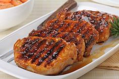 Sweet and Sour Grilled pork - Grill Recipes