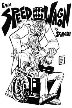 Robert Edward O. Speedwagon - by SoulKarl (Dan Ciurczak) - JoJo's Bizarre Adventure: Part I & II - Phantom Blood & Battle Tendency