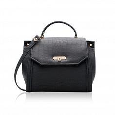Black top handle vegan bag with silver or gold hardware Vegan Handbags db22c51abfc87