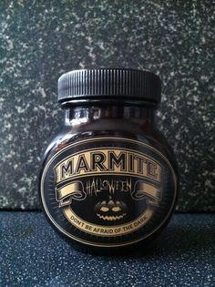 Marmite Halloween Jar Made by MARMITE.CO.ZA