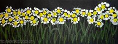 Tekenen en zo: Bloemen in het veld