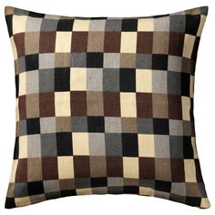 IKEA - STOCKHOLM, Cushion cover, Cover is made of ramie; a hard-wearing and absorbent natural material.The zipper makes the cover easy to remove.