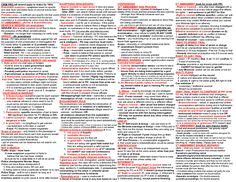 One page Law School & Bar Exam Criminal Procedure Law Outline