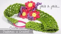 A partir de este tutorial podrás elaborar diademas de flores para tus niñas con tus agujas de crochet. ¡Toma nota!