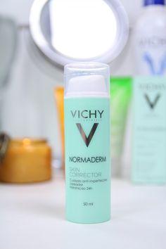 Perfeito para clarear manchas, inclusive melasma #Vichy #Normaderm Skincorrector