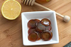 Don't buy store cough drops, make your own homemade all natural Honey Lemon Ginger Cough Drops! Made with only 3 ingredients and in less than 30 minutes
