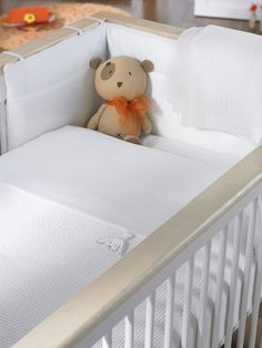 White Gift Luxury Cot and Cot Bed Nursery Bedding Bale White Gift builds on the comfort factor by combining pure white with intricate tone on tone textures, to create a fresh, easy to live with design, with a serene look. Soft waffles and pique cottons ar http://www.comparestoreprices.co.uk//white-gift-luxury-cot-and-cot-bed-nursery-bedding-bale.asp
