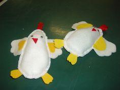 Kuřata z plsti