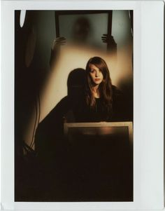 Instructions on how to create double exposure images with Fujifilm Instax 210 polaroid camera