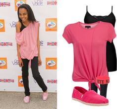 """""""China Anne McClain"""" by maria-del-mar-25 ❤ liked on Polyvore"""