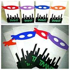 Hey, I found this really awesome Etsy listing at https://www.etsy.com/listing/160864005/ninja-turtle-party-bags-12-count-tnmt