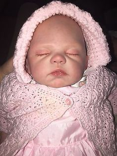 Realistic Reborn Baby ISABELLA Mommy's Angel Sculpt by Romie Strydom Paid 756.89