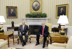 President Trump on Friday continued to welcome a parade of foreign leaders to the White House, this time hosting Peruvian President Pedro…