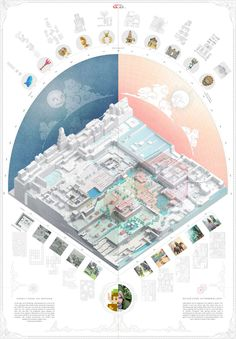 AA School of Architecture 2015 - Yah-chuen-shen Architecture Panel, Architecture Graphics, Architecture Student, Architecture Drawings, Site Analysis Architecture, Architecture Mapping, Architecture Diagrams, Axonometric Drawing, Isometric Drawing