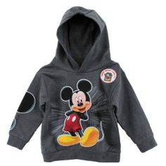 Amazon.com: Mickey Mouse Baby Boys 12-24 M Pullover Hoodie (12 Months): Clothing $25