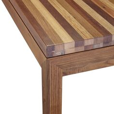 Reclaimed Wood Top/ Elm Base 60x36 Dining Table | Crate and Barrel