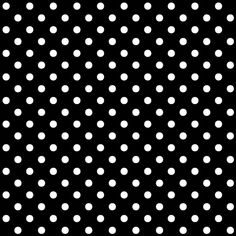 Black and White Polka Dot - Background Labs
