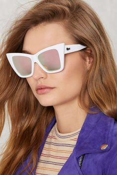 Quay x Shay Mitchell Vesper Iridescent Shades | Shop Accessories at Nasty Gal!
